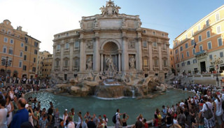 Vandals Assault Roman Treasures