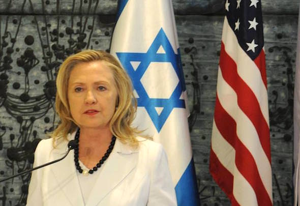 A Kiss Was Just A Kiss: Hillary Clinton's March to the Radical Right on Israel