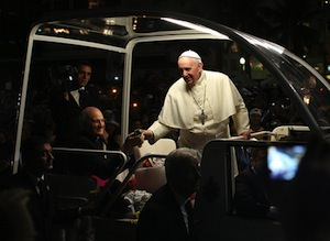 Pope Says He Won't 'Judge' Gay Priests