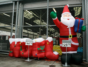 Santa Claus Arrested for Protesting Walmart