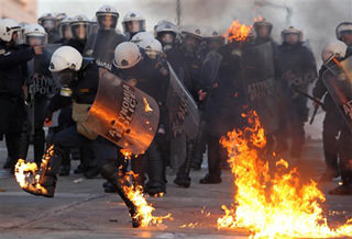 Greeks 'Cannot Take Any More'