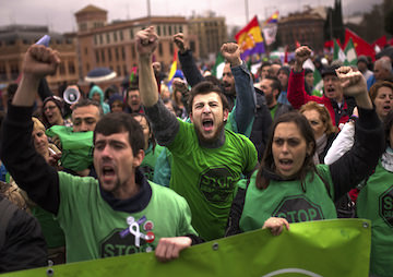 Protesters Assail Austerity Policies at Madrid 'Dignity March'