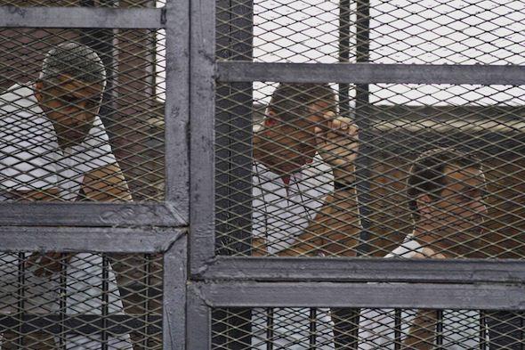 Truthdiggers of the Week: Al-Jazeera Journalists in Cairo