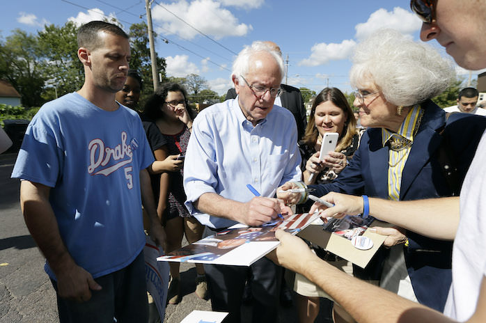 The Grass Roots Are Getting Greener for Sanders, but Will They Wither?