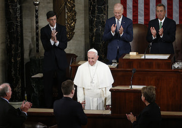 Pope Francis Elevates the Discourse on Capitol Hill