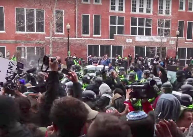 Reporter Arrested During Trump Inauguration Protests May Face 75 Years in Prison