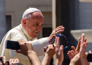 Pope Calls for Moral Campaign on Climate Crisis