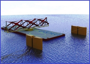 Revolutionary Fence Is Set to Trap the Sea's Power