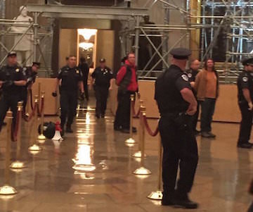 Democracy Spring Activists Take Capitol Rotunda to Demand an End to Voter Suppression