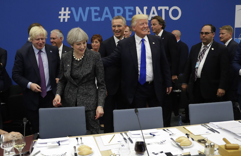 Donald Trump's Boorish Behavior With NATO Could Have Unintended Benefits