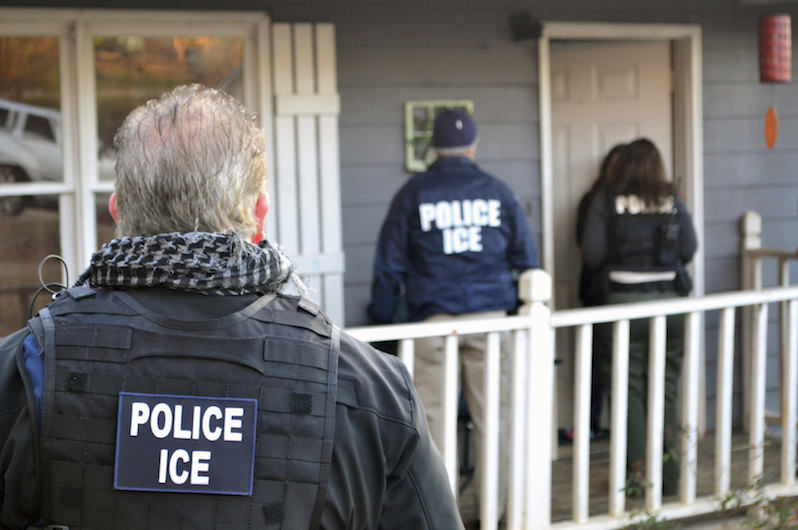 Immigration Arrests Rise Almost 40 Percent in Trump's First 100 Days