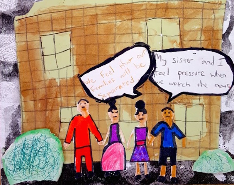 Latino Students in Philadelphia Draw Comics to Reveal Their Fears About Immigration