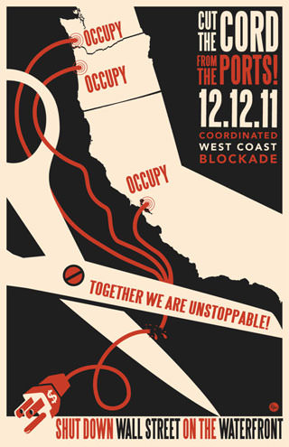 Occupy Movement Invades West Coast Ports