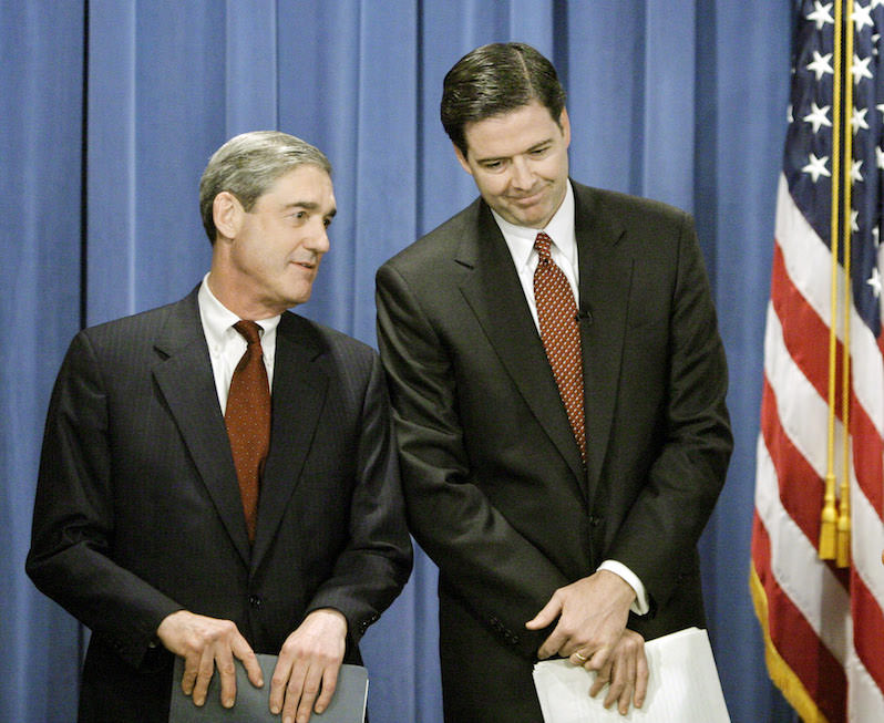 The Mythical Integrity of Robert Mueller and James Comey