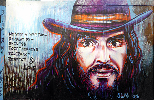 Russell Brand: 'Socialism Is Christianity Politicized'