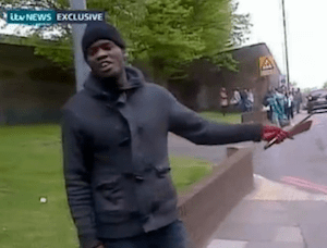 Bizarre, Apparently Jihadist Slaying in London (Video)