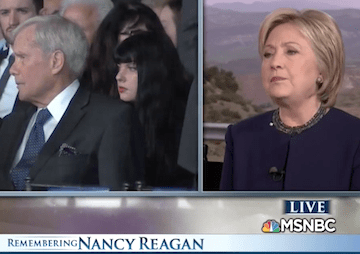 VIDEO: Why Did Hillary Clinton Falsely Cast Nancy Reagan as a Champion of AIDS Sufferers?