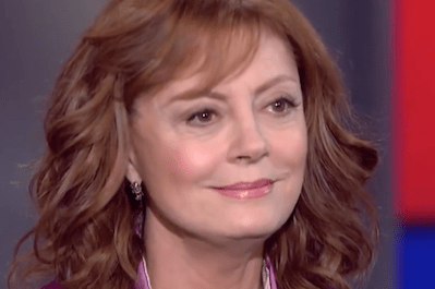 Truthdigger of the Week: Susan Sarandon, Defender of Those Who'll Vote for Bernie Sanders Only