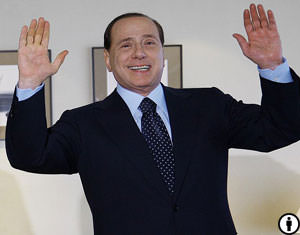 Berlusconi Protesters Have a Few Tricks Up Their Sleeve