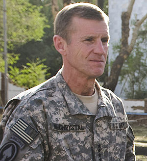 McChrystal Discusses Afghanistan Plan