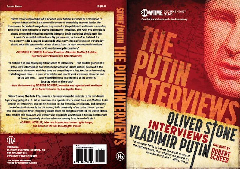 Oliver Stone Hopes 'The Putin Interviews' Can Ease U.S.-Russia Relations
