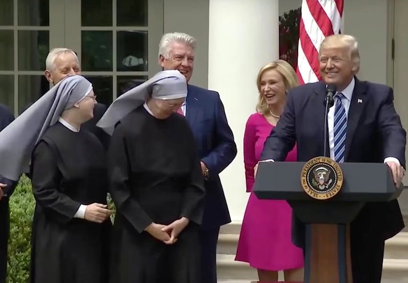 Trump Executive Order Eases Political Restrictions on Religious Institutions