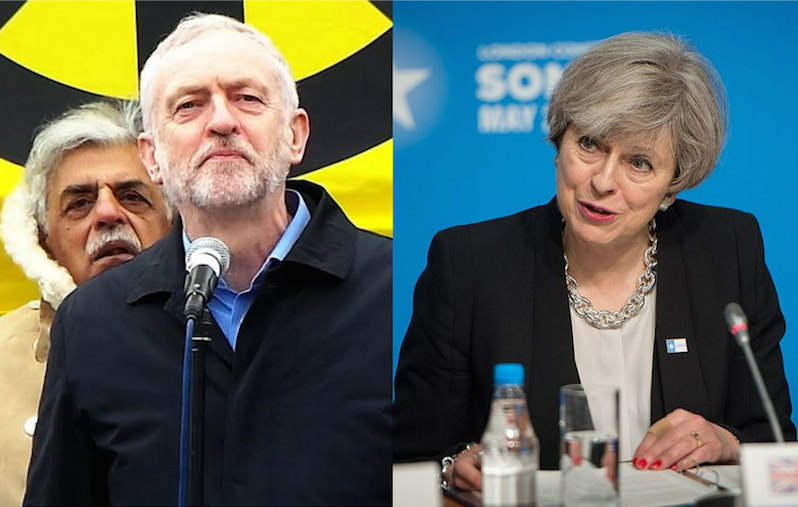 Corbyn Calls on May to Resign as British Election Results Show Losses for Conservatives