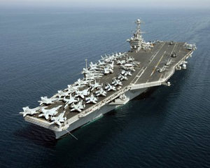 Iran to U.S.: Your Aircraft Carrier Is Not Welcome Here