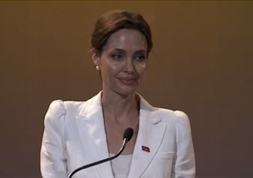 Angelina Jolie Imagines a World in Which Rape in War Zones Can Be Stopped