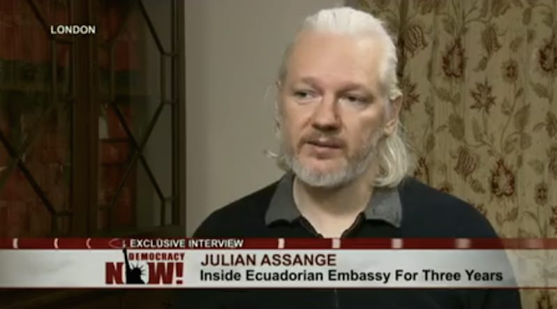 The Pre-Charge Punishment of Julian Assange