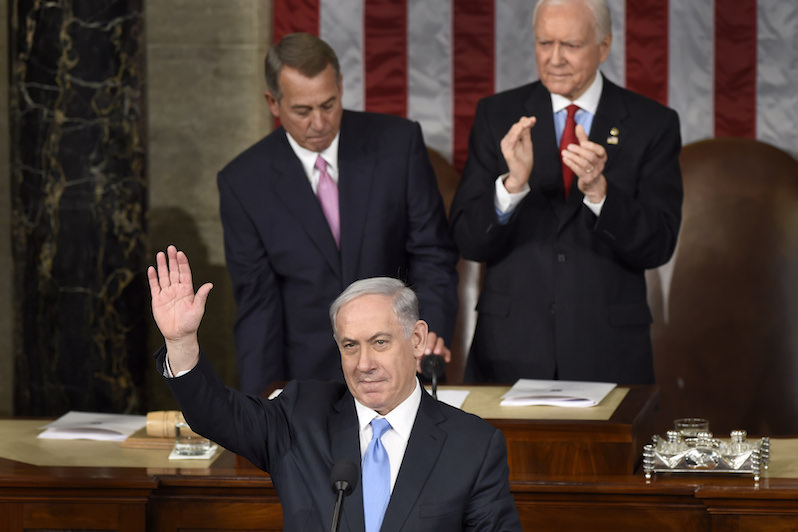 In the Shadow of FDR, Netanyahu Preaches a Politics of Fear