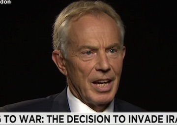 Tony Blair Admits Iraq Invasion's Role in the Rise of Islamic State