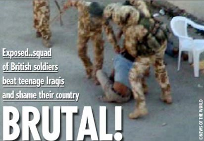 Video Shows British Soldiers Beating Iraqi Teens