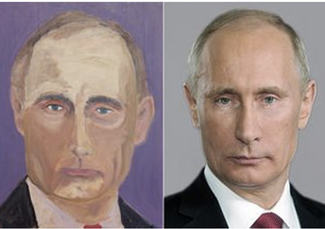 George W. Bush Used Top Google Results for All Paintings; Who Will Sue for Copyright Infringement?