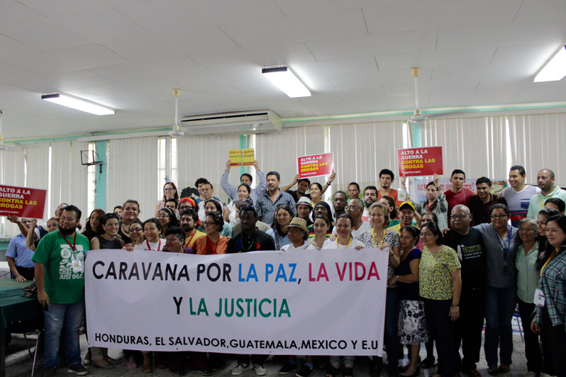 Caravan for Peace, Life and Justice Is Saying 'No' to the War on Drugs