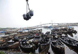 Chinese Muffle Oil Spill Estimates