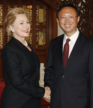 Dissidents Are Held Back as Clinton Holds Forth in China