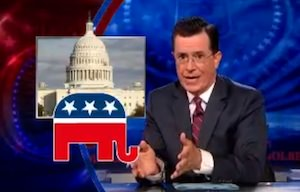 Want Food Stamps? Become a Massive Corporation, Says Stephen Colbert