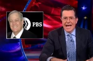 Colbert Slams PBS for Appeasing Koch Brothers