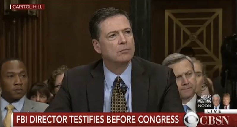James Comey: The Only Reason Julian Assange Is Not 'Apprehended Yet' Is He's Out of Reach