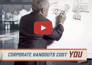 VIDEO: Ending Corporate Welfare Now Is Step 6 in Saving the Economy
