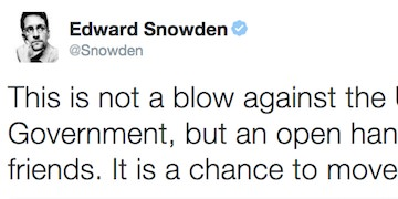 Edward Snowden Calls E.U. Vote to Offer Him Protection From Extradition a 'Game-Changer'