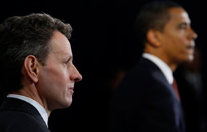 Geithner and Goldman, Thick as Thieves