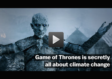 VIDEO: Is the Moral Behind HBO Series 'Game of Thrones' That Climate Change Is Our Common Enemy?