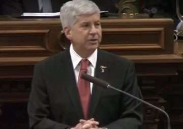 No, Gov. Snyder, Flint's Water Wasn't Poisoned by 'Government' (Video)