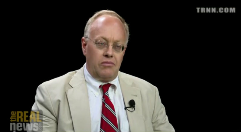 VIDEO: Chris Hedges: In Extreme Times, 'Liberals Are a Dead Force' (Part 1 of 3)