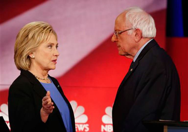 Hillary Blames Bernie for an Old Clintonite Hustle, and That's a Rotten Shame