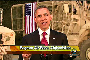 Obama From Afghanistan: 'This Is Where It Will End' (Update: Video)