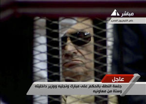 Mubarak Is Sentenced to Life in Prison