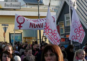 Once Upon a Time, Nearly All of Iceland's Women Went on Strike, and the Results Were Incredible